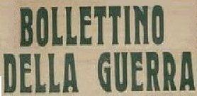 AVC-BOLLETTINO DELLA GUERRA n.2