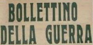 AVC – BOLLETTINO DELLA GUERRA n.7- agg.15.01.2020